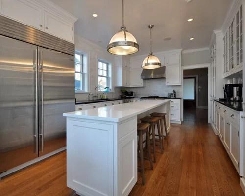Long Kitchen Design Ideas