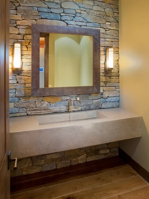 Concrete Vanity Ideas Pictures Remodel And Decor