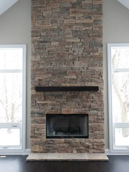 Ledge Stone Fireplaces Home Design Ideas Pictures