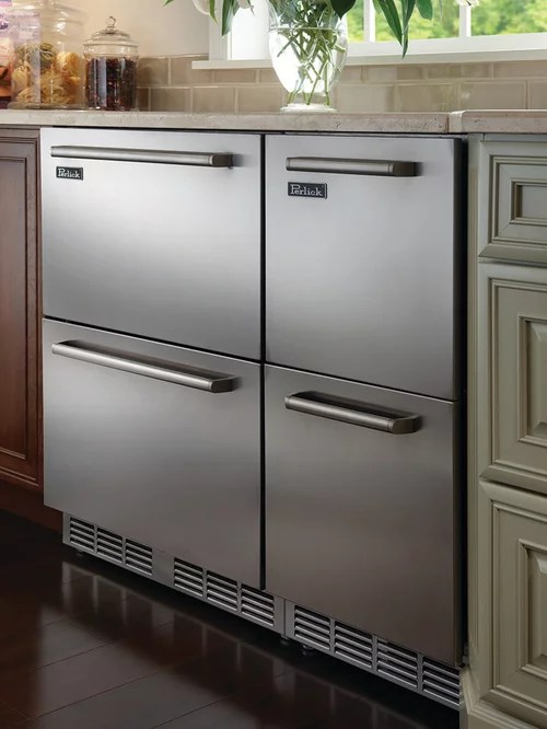 wholesale kitchen appliances stainless steel carts undercounter freezer drawer | houzz
