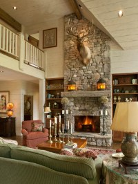 Ledge Stone Fireplaces | Houzz