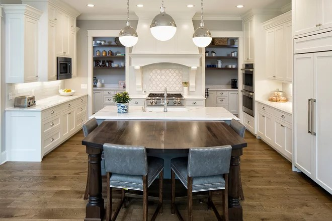 Traditional Kitchen by Grace Hill Design