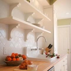 Kitchen Counters Ikea Grohe Faucets Repair Herringbone Subway Tile Backsplash   Houzz