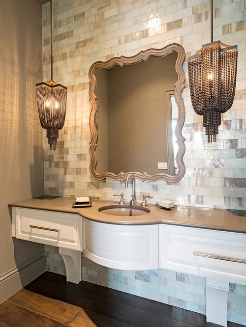 Large Powder Room Design Ideas, Renovations & Photos With