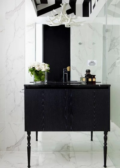 Modern Bathroom by James Dawson Interior Design
