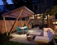 Slanted Pergola Home Design Ideas, Pictures, Remodel and Decor