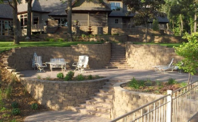 Natural Stone Retaining Wall Home Design Ideas Pictures