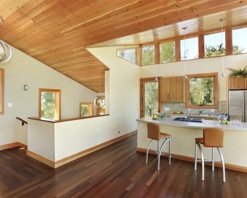 mid level kitchen cabinets 18 inch doll furniture oak trim dark floor   houzz