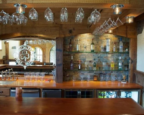 Back Bar Mirror Home Design Ideas, Pictures, Remodel And Decor