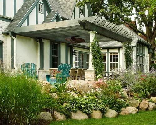 english tudor landscaping