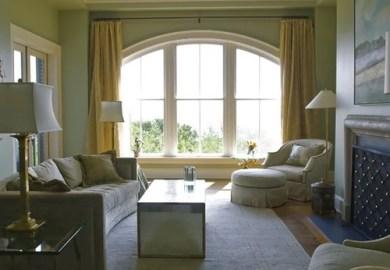 Arch Window Treatment Home Design Photos Houzz