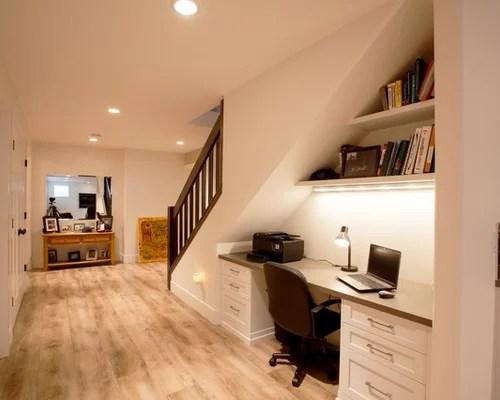 Desk Under Stairs  Houzz
