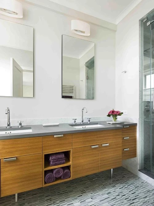 Mid Century Vanity Home Design Ideas Pictures Remodel