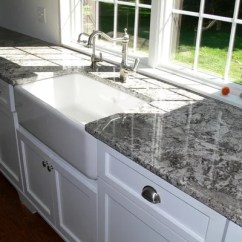 White Porcelain Undermount Kitchen Sink Shelving For Azul Aran | Houzz