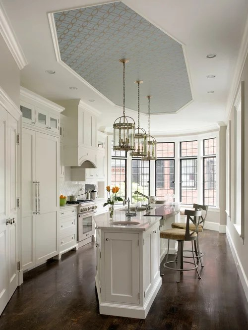 Houzz  Ceiling Wallpaper Design Ideas  Remodel Pictures