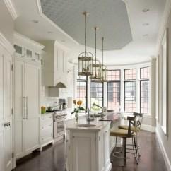 Kitchen Wallpaper Backsplash Global Knives Houzz | Ceiling Design Ideas & Remodel Pictures