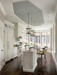 Wallpaper On Ceiling Home Design Ideas, Pictures, Remodel ...