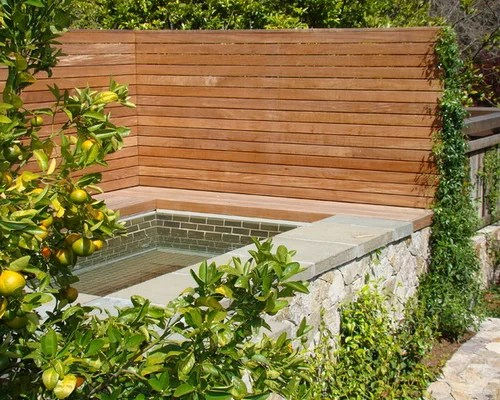 hot tub privacy screens ideas