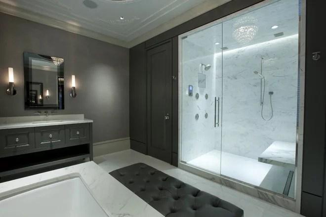 Contemporary Bathroom by Michael Abrams Interiors