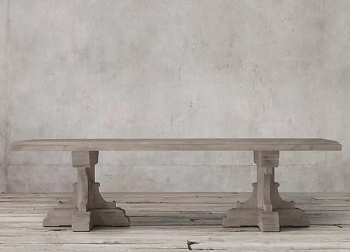 How To Protect Unfinished RH Wood Dining Table?