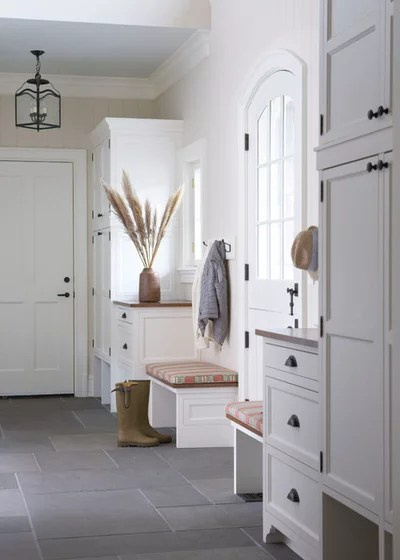 Traditional Entry by Kathleen Walsh Interiors, LLC