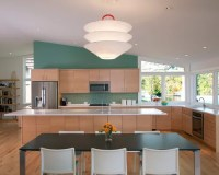 Sloped Ceiling Kitchen | Houzz