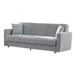 Empire Furniture Sofa Leather And Fabric Mix Herry Up Usa Niagara Modern Fold Out Convertible Bed Sleeper Gray By
