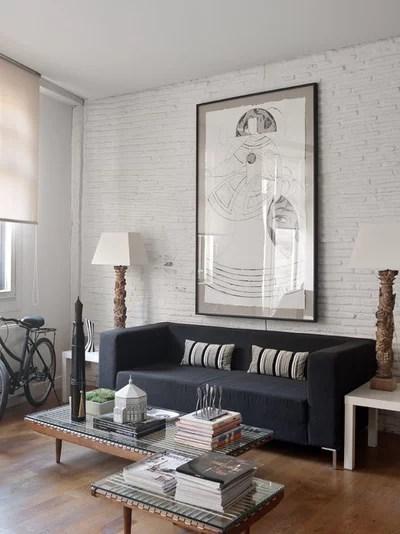 Industrial Living Room by MIKEL LARRINAGA Arquitectura Interior & Decoración