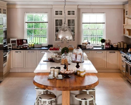 Kitchen Island Extension Ideas Houzz