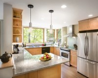 Corner Window Kitchen | Houzz