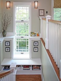 Stair Landing Home Design Ideas, Pictures, Remodel and Decor