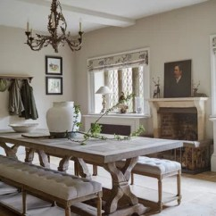 Living Room Table Decor Decorating Ideas Photos Dining Houzz Example Of A Mid Sized Classic Beige Floor Enclosed Design With Walls