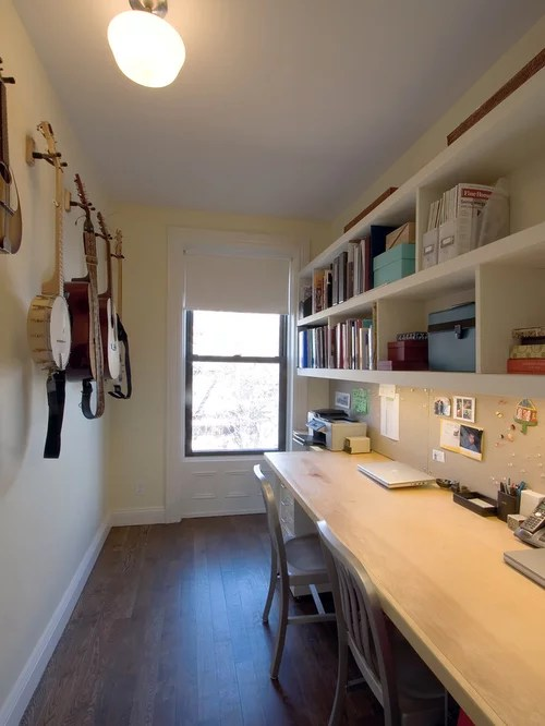 Narrow Office Space  Houzz