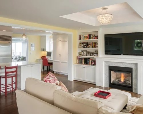 Family Room Decor Fireplace