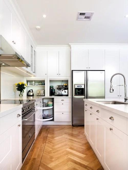 kitchen mixer island legs appliance garage | houzz
