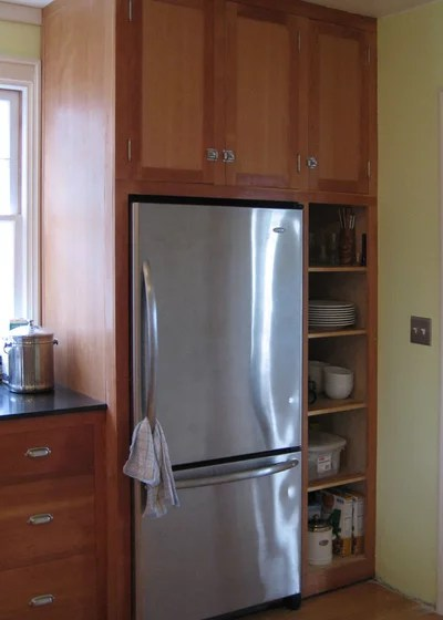 Get the Look of a Builtin Fridge for Less