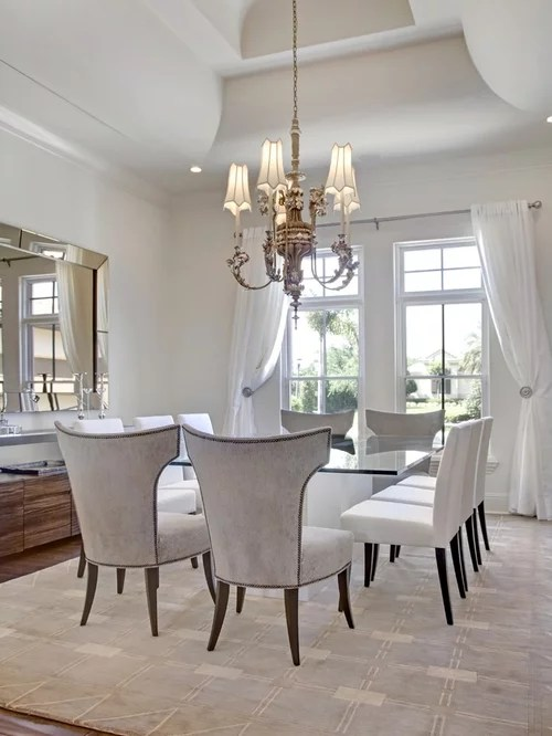 White Dining Room Home Design Ideas Pictures Remodel And
