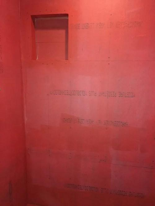 contractor applying redgard wrong