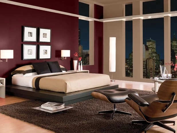 Set The Mood 4 Colors For A Romantic Bedroom
