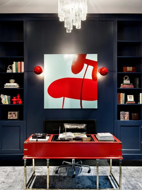 Best Navy Blue And Red Design Ideas  Remodel Pictures  Houzz