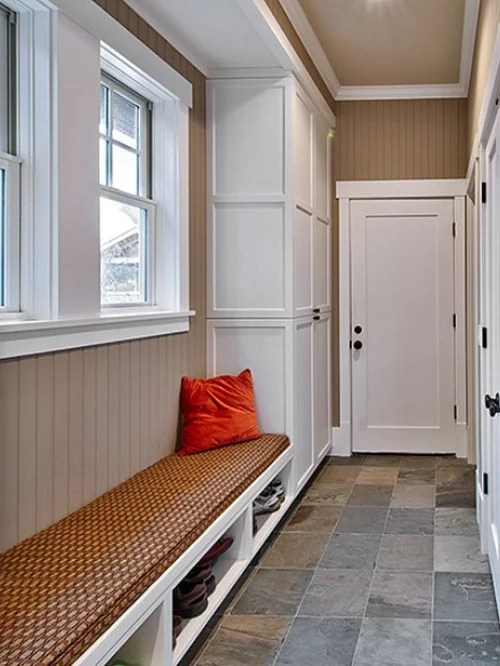 Narrow Mudroom Bench Ideas Pictures Remodel And Decor