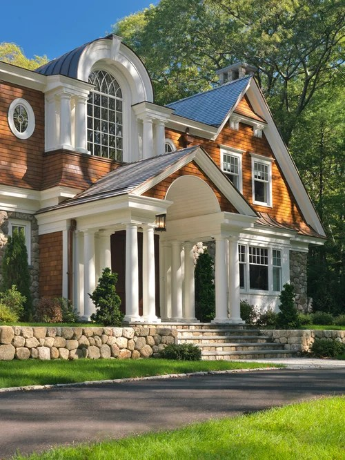 Decorative Stone House Fronts