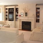 Family First Traditional Family Room Vancouver By Kenorah Design Build Ltd