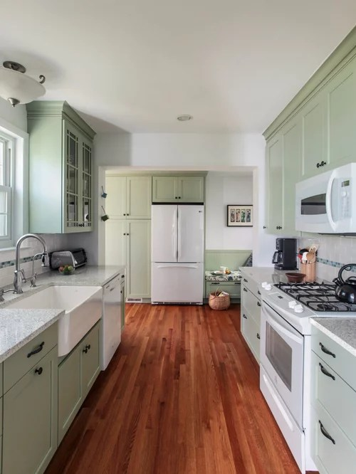 knotty pine kitchen cabinets round table sets light green | houzz