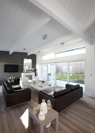 Contemporáneo Sala de estar by Caroline Wach Architecture