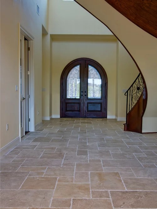 French Pattern Travertine  Houzz