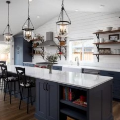 Remodel A Kitchen Lights For Over Table 75 Most Popular Farmhouse Design Ideas 2019 Stylish Large Open Concept Inspiration Galley Vinyl Floor And