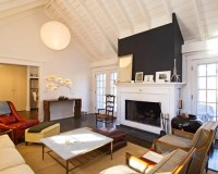 Cathedral Ceiling With Fireplace | Houzz