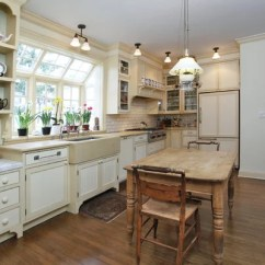 Kitchen Faucet With Side Sprayer Premade Cabinets Window Over Sink | Houzz