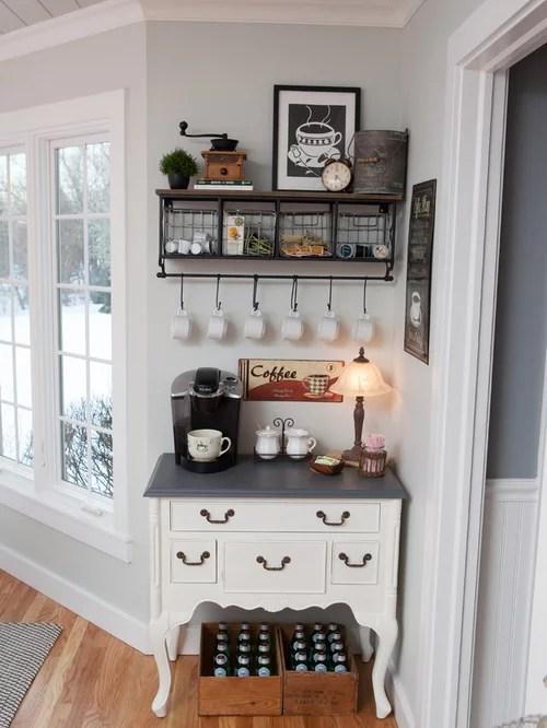 kitchen remodel dallas beach cabinets coffee corner | houzz